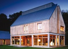 We had a neat old barn mom & dad had always wanted to convert to a house ~ wish they could have done that...