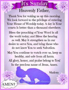 Prayer Scriptures, Faith Prayer, Prayer Quotes, Bible Verses Quotes, Sunday Morning Prayer, Morning Prayers, Good Morning Quotes, Sunday Quotes, Sunday Pictures