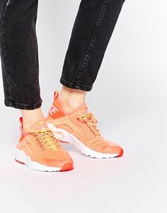Nike Bright Mango Air Huarache Ultra Trainers