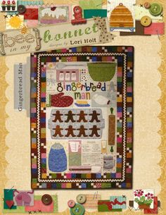 How to Bake a Gingerbread Man pattern by Lori Holt