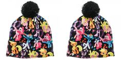 d5c29afd7f8 NEW Brony My Little Pony Sublimated Pom Beanie POM BEANIE HAT CAP KNIT  COSPLAY  mylittlePony