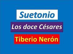 Suetonio: Los doce Césares. Tiberio Nerón - YouTube
