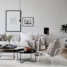 09 Scandinavian Living Room Design Ideas