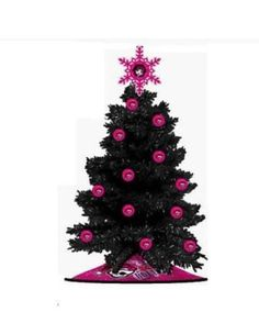 """Monster High 24"""" Artificial Christmas Tree with ornaments & Tree Skirt NEW"""