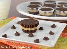 Homemade Mini Chocolate-Peanut Butter Cups Recipe on Yummly