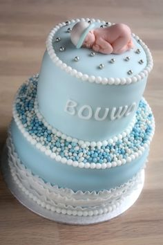 A boy is born.... By Kipling79 on CakeCentral.com