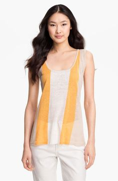 Lauren Hansen Colorblock Stripe Shell $69.00