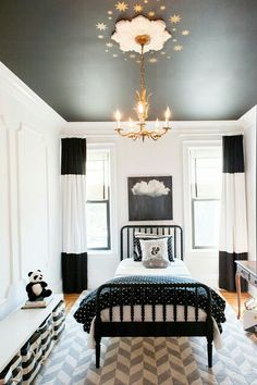 A Ceiling Color Can Contrast Not Only With Your Wall Color But Also A Ceiling Medallion Like The One Here A Beautiful Vintage Detail Is Highlighted