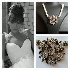 Inbal Dror Wedding Dress & BrideIstanbul Necklace