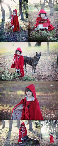 Little Red Riding Hood - Genie Leigh Photography