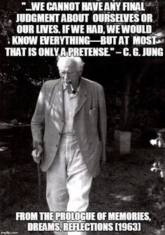 Carl Jung Depth Psychology: Carl Jung: The only question is whether what I tell is my fable, my truth.