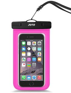 Joto Universal Waterproof Pouch Cellphone Dry Bag Case For Iphone Xs Max Xr Xs X Waist Pouch, Pouch Bag, Pouches, Magenta, Best Travel Gifts, Waterproof Phone Case, Best Travel Accessories, Cell Phone Pouch, Taking Pictures
