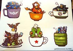 Pacific Rim Teacups!