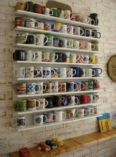 Coffee Cup Collection ★ I want this!!