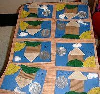 Art & Painting at WBR school: Textures in art for Kindergarten & 1st