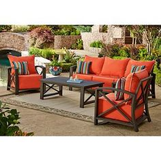 22 fascinating patio furniture images outdoor rooms outdoors rh pinterest com