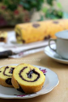 HESTI'S KITCHEN : yummy for your tummy: Bolu Gulung Blueberry