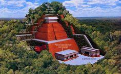 El INAH descubre una pirámide en Toniná, Chiapas; es más alta que la del Sol en Teotihuacan