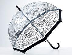 Prezentujemy Państwu stylowy parasol z Warszawą umilający deszczowe spacery. Idealnie nadaje się jako pamiątka z Warszawy, lub jako prezent dla fana stolicy. Wyprodukowany z materiału wysokiej...