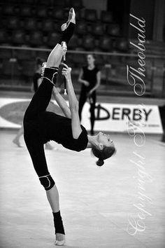 Viktoria Shynkarenko (Ukraine) <3 rhythmic gymnastics training