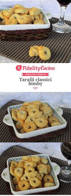 Taralli classici bimby