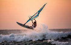 Indir duvar kağıdı winsurfing, extreem, deniz, Rüzgar Sörfü