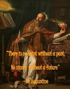 St Augustine on saints' past www.religiousbookshelf.org