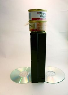 74 best recycle cd 39 s images vhs tapes recycling upcycle. Black Bedroom Furniture Sets. Home Design Ideas