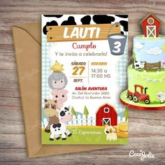 ARCHIVO DIGITAL. Se enviará por mail Kit Animalitos de la Granja. Imprimible Personalizable Incluye: Tarjetas (editables) Individual A3 para la mesa Tarjetit... Birthday Celebration, Birthday Party Themes, Diy Home Crafts, Crafts For Kids, Farm Themed Party, Baby Cake Smash, Animal Activities, Farm Birthday, Farm Yard