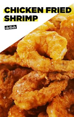 Can You Handle This CHICKEN FRIED SHRIMP?Delish