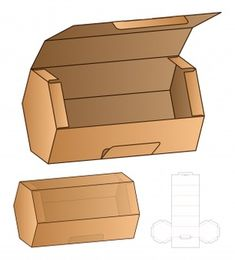 Box design box template design cut die packaging Vectors, Photos and PSD files Diy Gift Box, Diy Box, Gift Boxes, Paper Box Template, Box Templates, Box Packaging Templates, Origami Templates, Diy And Crafts, Paper Crafts