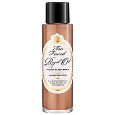 Royal Oil da Too Faced!  Oleo Bronzeador