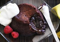 Soft-centred Chocolate Cakes