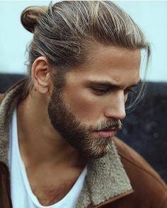 Popolare Tagli di capelli uomo | Barba e capelli uomo, Capelli lunghi uomo CU79