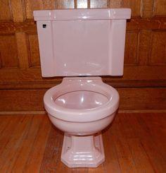 Vintage Mid Century Ming Green Toilet American Standard