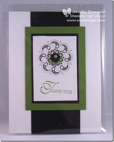 Two Styles of Card, One Stamp Set–Lacy and Lovely Northwest Stamper