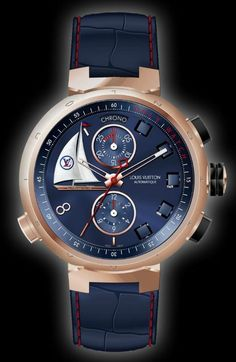 Louis Vuitton Tambour Spin Time Regatta Watch