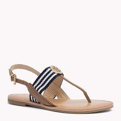 Sandals are girls best friend.. #TommyHilfiger