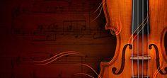 Art violin background