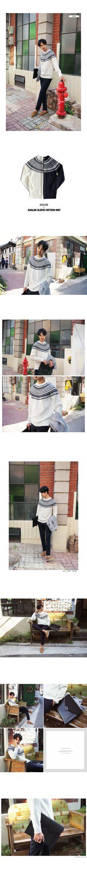 ラグランスリーブパターンニット・全2色ニット・セーターニット・セーター|レディースファッション通販 DHOLICディーホリック [ファストファッション 水着 ワンピース]