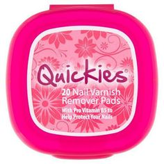#Quickies Nail Varnish Remover Pack of 20