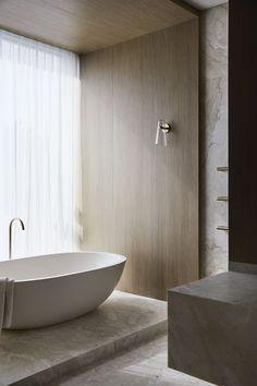 Bathroom Design Inspiration, Bathroom Interior Design, Interior Architecture, Interior And Exterior, Bathroom Toilets, Bathrooms, Architect Design, Interiores Design, Wall Sconces