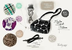 The Suite Skirt Purse gives you plenty of room plus hands-free convenience. And changing your look is a snap! Just pick out your favorite Suite Skits and change your look whenever you feel like it. What do you think is the sweetest part of this Suite style?  www.mythirtyone.com/lorikuramoto Thirty One 2014, Thirty One Totes, Thirty One Fall, Thirty One Gifts, 31 Party, Thirty One Business, Azzaro, Thirty One Consultant, 31 Gifts