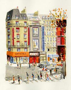Place Pigalle // Dominique Corbasson //little legs