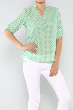 salediem.com New looks for Summer nights, Shipping FREE Polka Dot Blouse