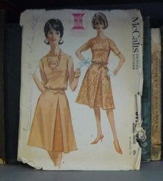 Neat Vintage 1960s Jackie Kennedy Style McCalls by SewCoolVintage, $6.00