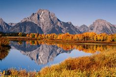 Autumn (when we will be there) in Grand Teton National Park, Wyoming