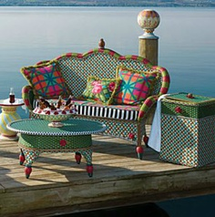 MacKenzie Childs | Greenhouse outdoor collection