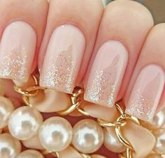 Nude and sparkles via we heart it