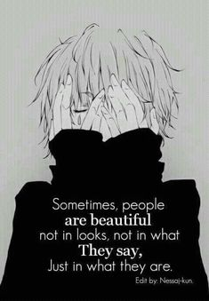 17 Ideas Quotes Deep Sad Depresion Bipolar For 2019 Sad Anime Quotes, Manga Quotes, Anime Depression, Dark Quotes, Depression Quotes, What Is Like, Feelings, Sketches, Art